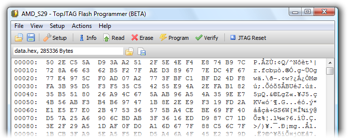 flash-programmer Xilinx Schematic on